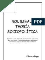 Rousseau Teoria Sociopolitica Filotecnologa