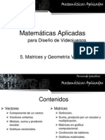 5 Vectores y Matrices