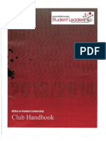 13-14 student leadership club handbook