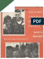 Salvemos a Bolivia de La Escuela