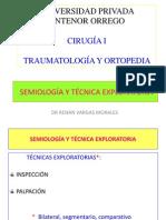 SEMIOLOGÍA Y TÉCNICA EXPLORATORIA