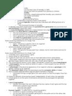 Patterns of Inheritance-Notes