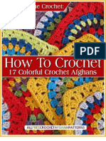 Color Scheme Crochet How to Crochet 17 Colorful Crochet Afghans