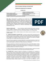 INFORME COORDINACIÓN ADMINISTRATIVA-FINANCIERA AUCM Agosto 2013