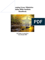 Redeemig Grace Bible Institute Handbook