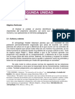 Unidad 2 CÓDIGO ÉTICO DE LA EDUCACIÓN