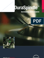 Dura Spindle Brochure A4-Flyer