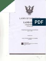 Sarawak Land Code Chapter 81 Tmp