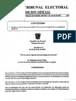 Decreto N° 21 de 2003 - Reglamenta la Propaganda Electoral