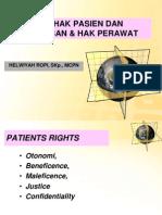 Hak-hak Pasien & Kewajiban Perawat