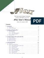 JFlex Manual