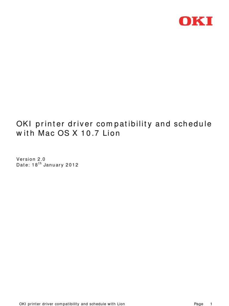 Oki C3400 Driver Download