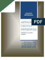 ANTOLOGIA CALCULO DIFERENCIAL