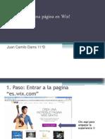 Cómo Crear una página en Wix!