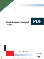 Datensicherungskonzept