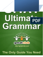 38869377 GMAT Grammar Book Part I New