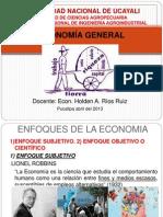 ECONOMÍA GENERAL 2013-I