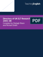 Research Directory 15 April 2010