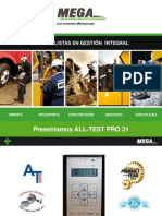 Using the All-test Pro 31