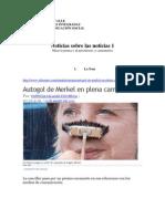 Comentando La Prensa y Sus Noticias 1 y 2
