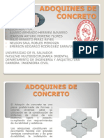 Adoquines de Concreto