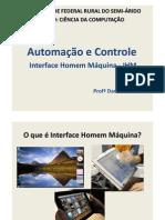Automação e Controle - IHM