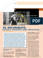 Gaceta Escapatares, Display, Merchandising
