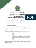 Projeto Lei3 Senado Brasil