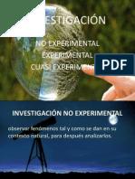 Investigacion No Cuasi Exp. Pres.