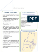 SV4GWS Federal Election Kit 2013