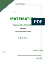 PROGRAMAS Matemática 2008