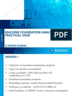 Machine Foundation Design