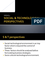 Social & Technological Perspectives-4
