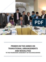 Primer on Annex on Transitional Arrangements and Modalities