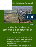 Concepto de Frontera
