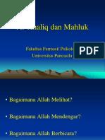 2.Al-Khaliq dan Mahluk - Copy.ppt