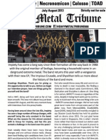 Heavy Metal Tribune #011 (July/August 2013)