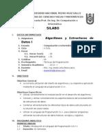 Silabo Estructuras i 2013-i