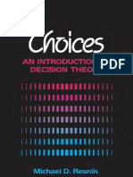 Choices - Resnik