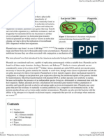 Plasmid - Wikipedia, The Free Encyclopedia