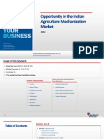 Opportunity in the Indian Agriculture Mechanizarion Market_Feedback OTS_2013