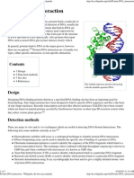 Protein-DNA Interaction - Wikipedia, The Free Encyclopedia