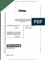 13-09-04 Microsoft v. Motorola FRAND Breach Jury Verdict