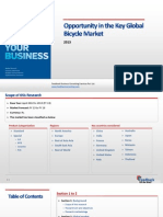 Opportunity in the Key Global Bicycle Market_Feedback OTS_2013