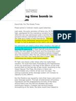 Ticking Time Bomb in Vietnam