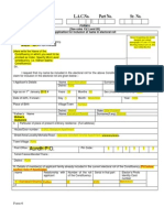 Sample filled form 6 for new voters