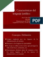 lenguaje juridico