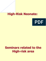 High Risk Neonate
