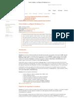 Linux - Cómo instalar y configurar Wordpress 2.1.x