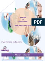 Surfactants and Textile Industry by www.rimpro-india.com